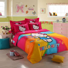 3d hello kitty bedding set children bed linen cartoon duvet cover