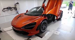 orange mclaren 720s stock mclaren 720s makes 691 hp at the wheels in dyno test