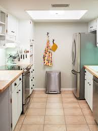 before and after inspiration remodeling ideas from hgtv inspiring diy small galley kitchen remodel sarah hearts at