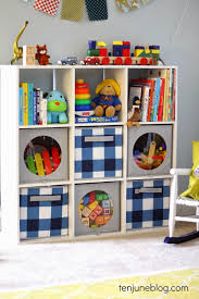 ten june kids room play room toy storage ideas