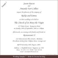 wording on wedding invitations sle wedding invitations wording justsingit