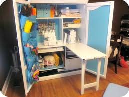 sewing armoire my sewing cabinet the aimée way