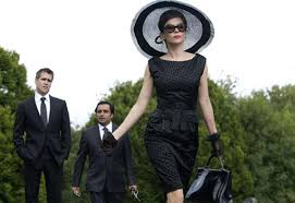 what to wear to a funeral lady beatrix