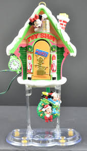 mr christmas mickey u0027s clock shop automated musical christmas