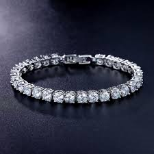 bracelet jewelry tennis images 2018 tennis bracelet round cut aaa cubic zirconia bracelets for jpg