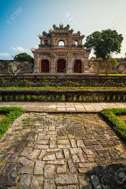 beautiful site of citadel in hue vietnam citadel in hue is