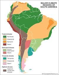 south america map rainforest south america britannica