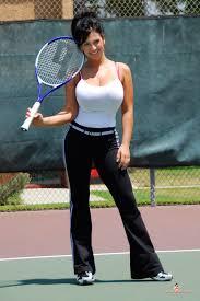 denise milani preview of her set tennis denise milani pinterest