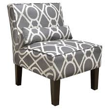 White Accent Chair Shop Gray And White Accent Chair On Wanelo