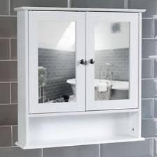 wooden bathroom wall cabinet ebay