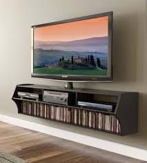 Laminate Floor Paint Living Inspiring Wall Mounted Tv Cabinet With Retro Design Also