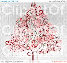royalty free rf clipart illustration of a red and green