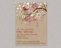 Christmas Baby Shower Invitations - christmas baby shower invitation winter baby shower invitation