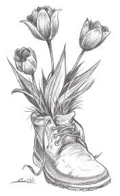 tremendous tulip flower tattoo real photo pictures images and