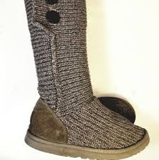 sweater boots with buttons 72 uggs shoes uggs australia cardy sweater boots size8 from