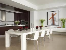rustic modern kitchen table home design decor vintage teak fresh mid century modern dining