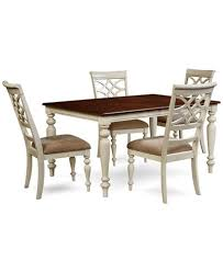 5 pc dining table set windward 5 pc dining set dining table 4 side chairs furniture