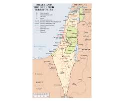 political map of israel maps of israel detailed map of israel in tourist map