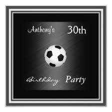 soccer birthday party invitations u0026 announcements zazzle