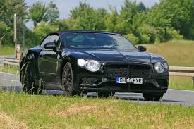 bentley gt3r custom 2018 bentley continental gtc spied testing crewe craft