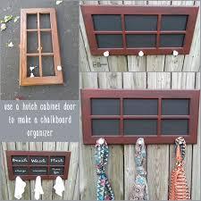 Repurpose Cabinet Doors Cabinet Door Coat Rack My Repurposed