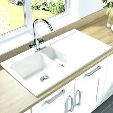 vasque cuisine poser ceramique encastrable blanc best evier cuisine blanc castorama
