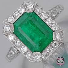 emerald antique rings images Antique engagement ring collection antique emerald engagement jpg
