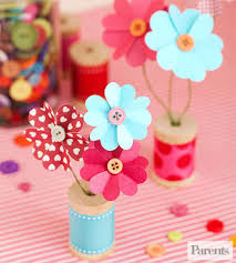 mothers days gifts s day gifts kids can make heart shapes wooden spools and