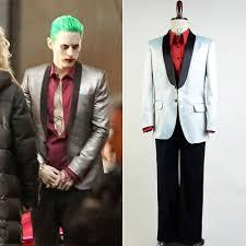 Halloween Costume The Joker by Popular Jared Leto Joker Squad Costume Buy Cheap Jared