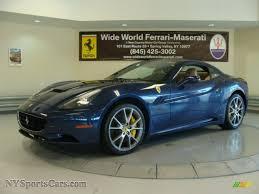 Ferrari California 2012 - 2012 ferrari california in blu tour de france blue metallic