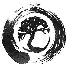 the combination of tree of and enso symbol in this