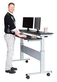 Ikea Adjustable Height Standing Desk Desks Adjustable Height Desk Standing Desk Sit Stand Table Top