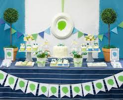 Little Man 1st Birthday Decorations Kara U0027s Party Ideas Silhouette Inspired Boy Little Man 1st Birthday