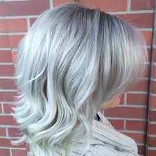 glamorous styles for medium grey hair grey hair trend 20 glamorous hairstyles for women 2018 page 2 of 4