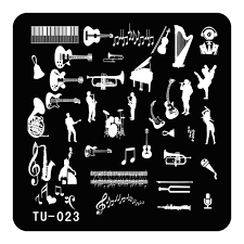 online get cheap music nail designs aliexpress com alibaba group