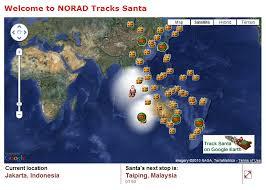 santa map the 2010 santa tracker review from norad to earth