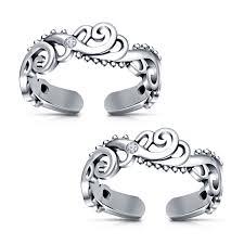 online rings silver images Toe rings sterling silver buy new fancy toe ring for womens in 925 jpg