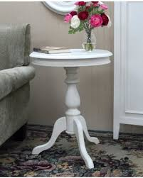 white pedestal side table check out these bargains on home furniture round side table vintage