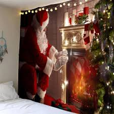 Christmas Wall Pictures by Wall Tapestry Christmas Waterproof Cheap Casual Style Online Free