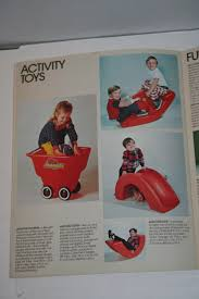 Little Tikes Football Toy Box 1976 Little Tikes Catalog Parry Game Preserve