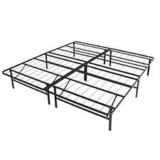 Platform Metal Bed Frame Mattress Foundation Best Choice Products Platform Metal Bed Frame Foldable