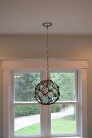 glass fishing float pendant light this is the one for the kitchen island recycled glass float