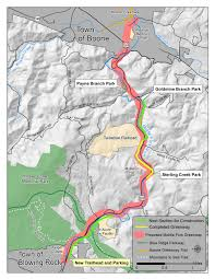 Tanger Map Middle Fork Greenway