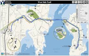 West Point Map West Side Trail U2013 Royal River Conservation Trust