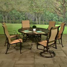 Patio Dining Sets - bel air cast aluminum sling patio dining sets american sale