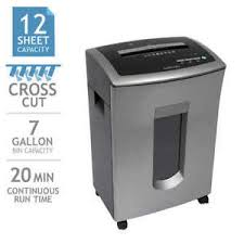 goecolife commercial 12 sheet crosscut shredder multi goecolife commercial grade 12 sheet cross cut shredder ebay