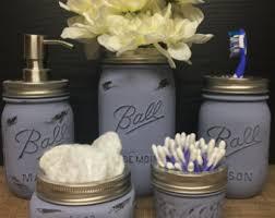 Lavender Bathroom Accessories by Lavender Bathroom Etsy