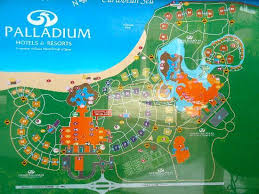 ideal resort map grand palladium colonial riviera plan du site nous étions
