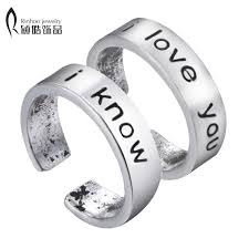 couples rings images I love you i know couples rings set anniversary ring set wedding jpg