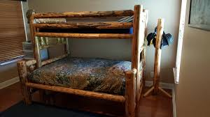 log bunk bed set swip shop